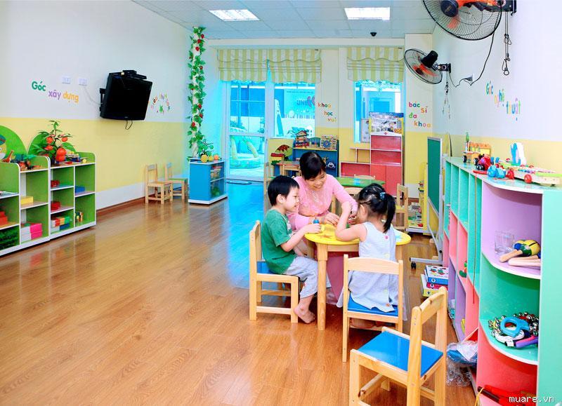 Tổng hợp các loại thiết bị mầm non cần thiết cho các trường mới xây